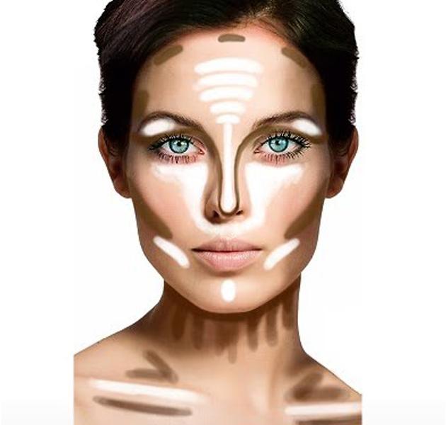 Como adelgazar la cara maquillaje